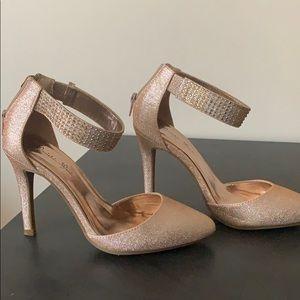 Rose gold Manichi Mani Heels